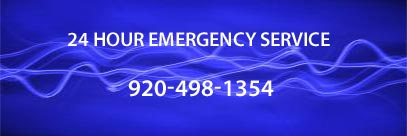 24 Hour Emergency Service 920-498-1354